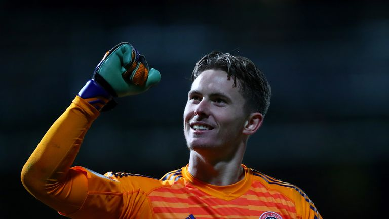 Dean Henderson has enjoyed a successful loan spell from Manchester United
