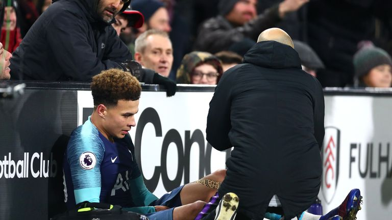 Dele Alli spent six weeks on the sidelines after injuring his hamstring in January