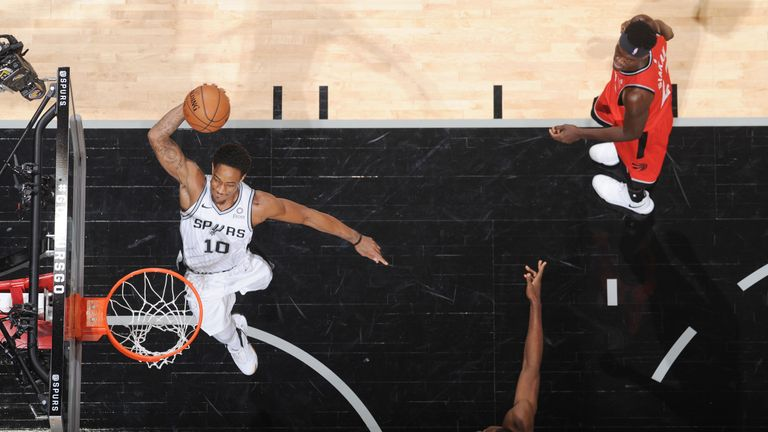 San Antonio Spurs visit Toronto Raptors as teams return to court after All-Star break | NBA News |