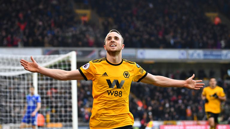 Diogo Jota has 43 points in his last four Premier League matches