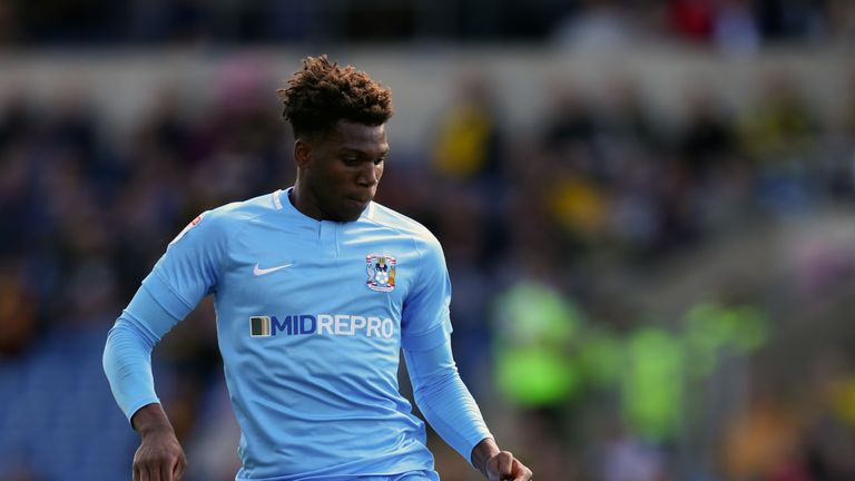 Dujon Sterling has found his feet at Coventry