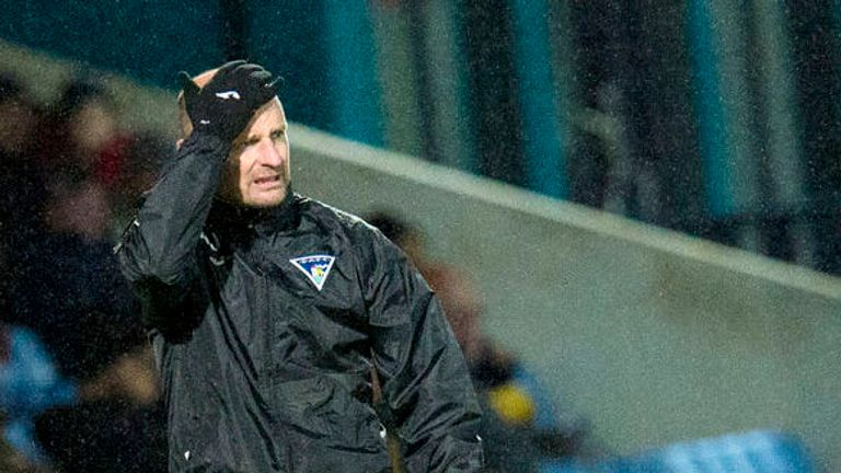 Allan Johnston has left Dunfermline after three-and-a-half years in charge