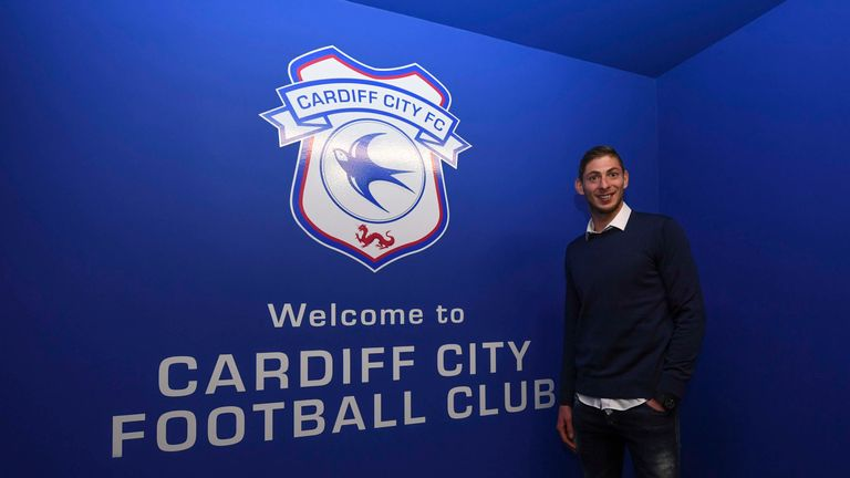 Emiliano Sala had carried out press duties at Cardiff on Friday, after signing from Nantes