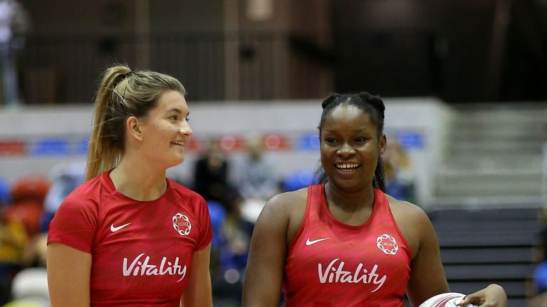 The duo were both part of England's three-match series against Uganda at the end of lat year