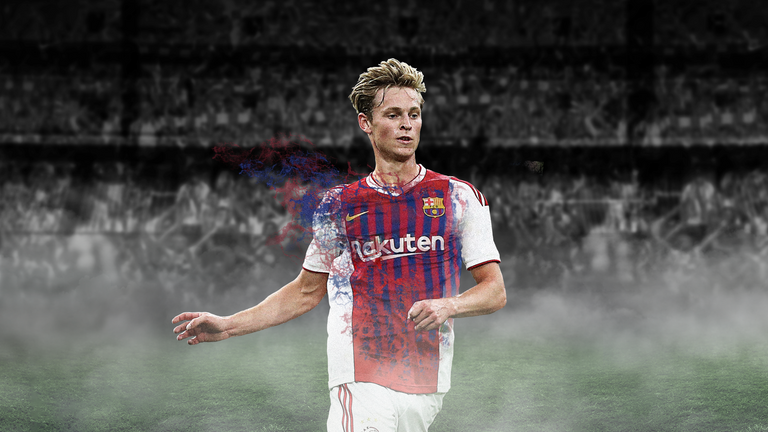 Ajax midfielder Frenkie de Jong will join Barcelona in July