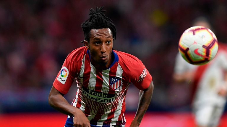 Gelson Martins only joined Atletico Madrid last July