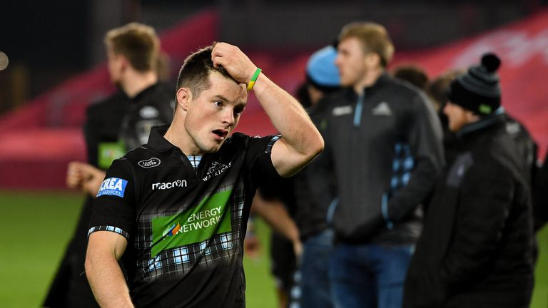 Glasgow Warriors suffered another defeat after losing in Italy