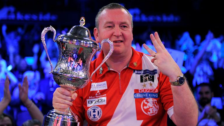 Durrant defeated Scott Waites to clinch his third consecutive Lakeside title last month