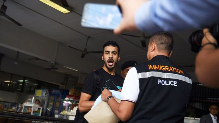 Hakeem Al-Araibi was arrested after arriving in Thailand on honeymoon