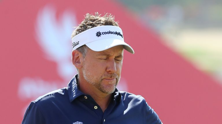 Poulter only arrived in Abu Dhabi on the eve of the tournament after travelling from Hawaii