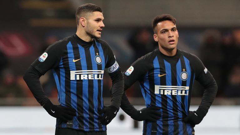 Inter Milan were held to a 0-0 draw by Sassuolo on Saturday