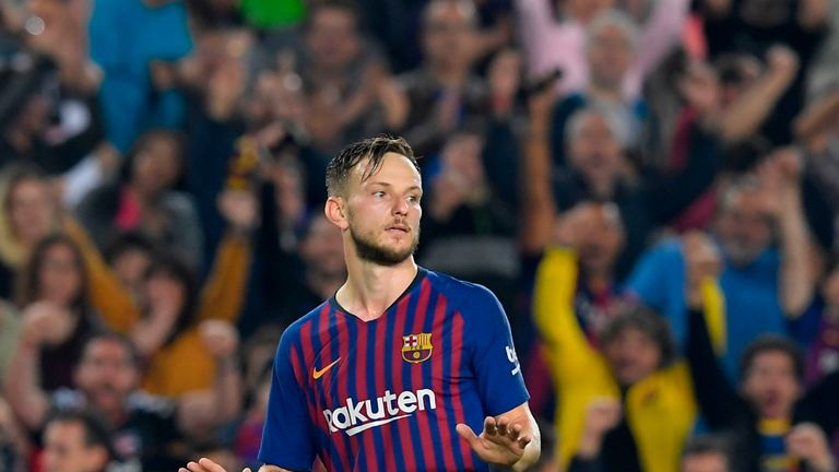Ivan Rakitic has been linked with a move to Inter Milan