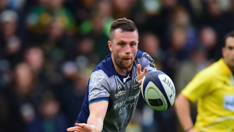 Connacht's Jack Carty is picked ahead of Ross Byrne