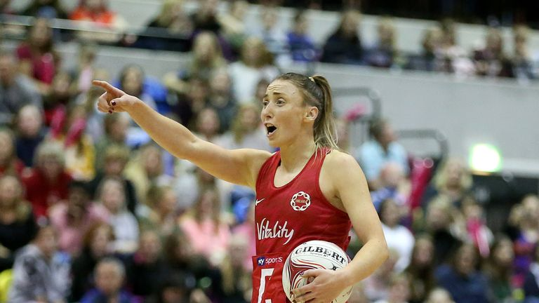 Jade Clarke is the Roses' most-capped player of all time - her next appearance will be her 160th