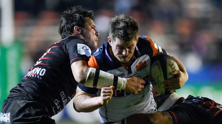 James Johnstone notched the crucial third try on 63 minutes
