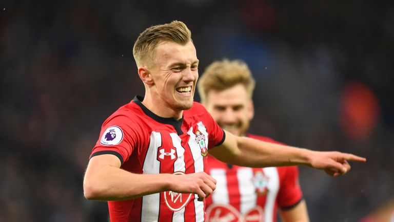 James Ward-Prowse has registered 37 points from his last five