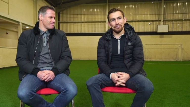 Carragher first met lifelong Liverpool fan Grant nearly 10 years ago and the two men have kept in regular contact