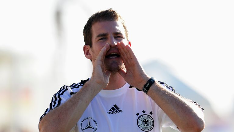 Jan Siewert gained experience coaching Germany's U17 and U18 sides