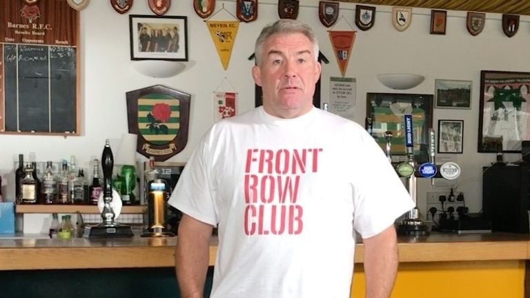 Leonard has launched The Front Row Club to help raise money for the Atlas Foundation