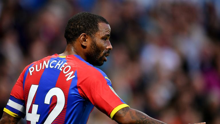Jason Puncheon has spent five years at Crystal Palace