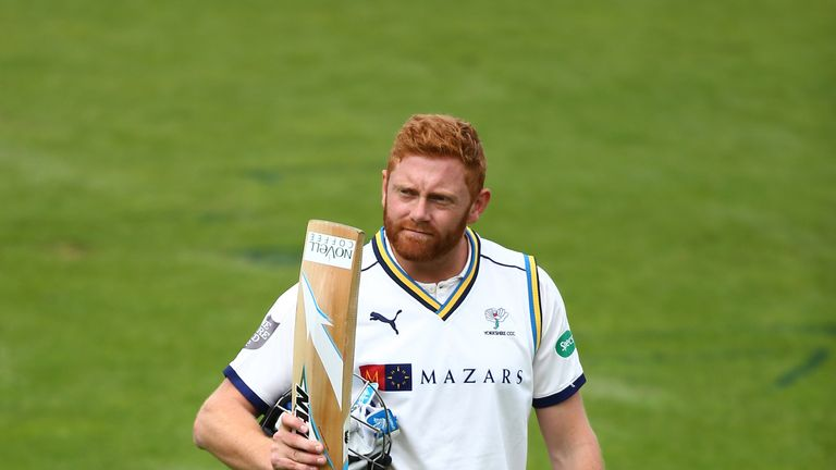 Jonny Bairstow has extended his contract at Yorkshire