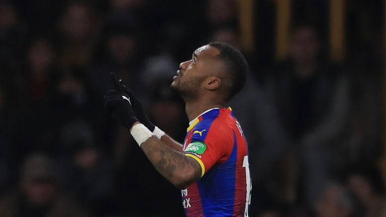 Jordan Ayew helped Crystal Palace to an important win