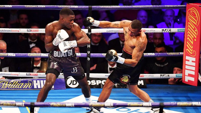 Buatsi blasted aside Renold Quinlan at The O2 in December