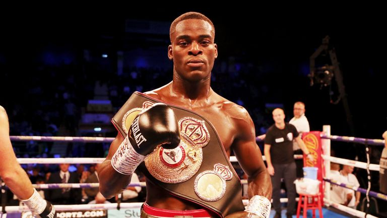 Joshua Buatsi has been ordered to face Liam Conroy for vacant British belt