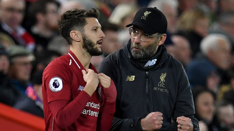 Adam Lallana had another injury-hit season in 2018/19