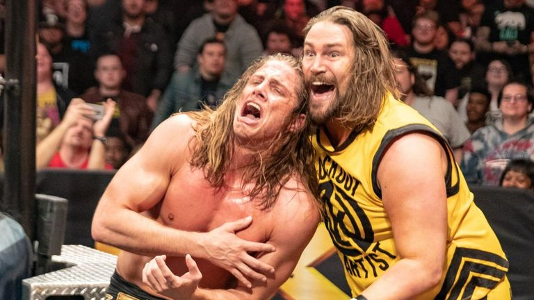 Kassius Ohno got his revenge against Matt Riddle after their match on NXT