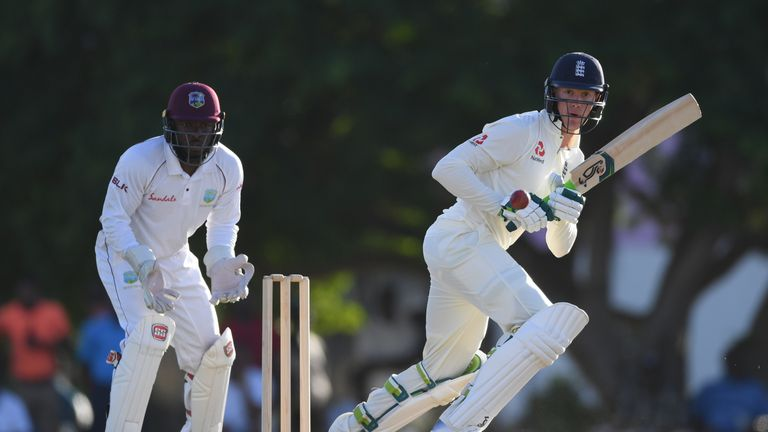 England top order fail to fire in Windies