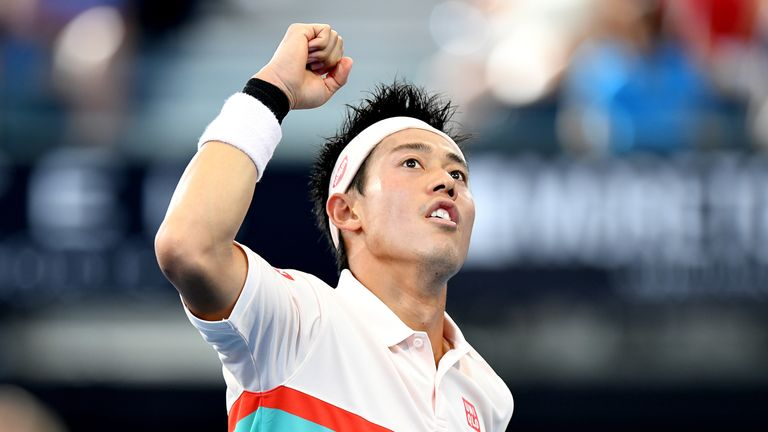 Nishikori storms past Chardy in Brisbane International semifinals