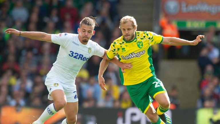 Norwich and Leeds are separated by just two points at the top of the Championship