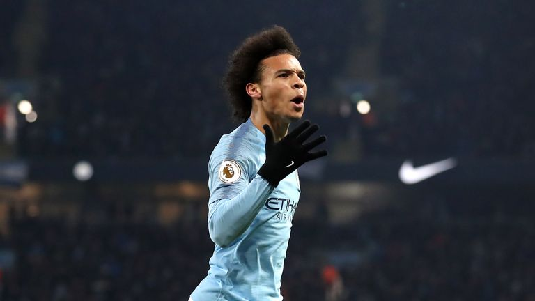 Leroy Sane has been in fine form for the Citizens and scored the winner against title-challengers Liverpool