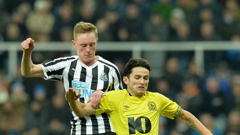 Newcastle were held at home by Championship side Blackburn last weekend
