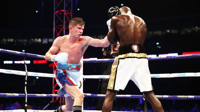 Campbell avenged his first professional defeat to  Yvan Mendy in September