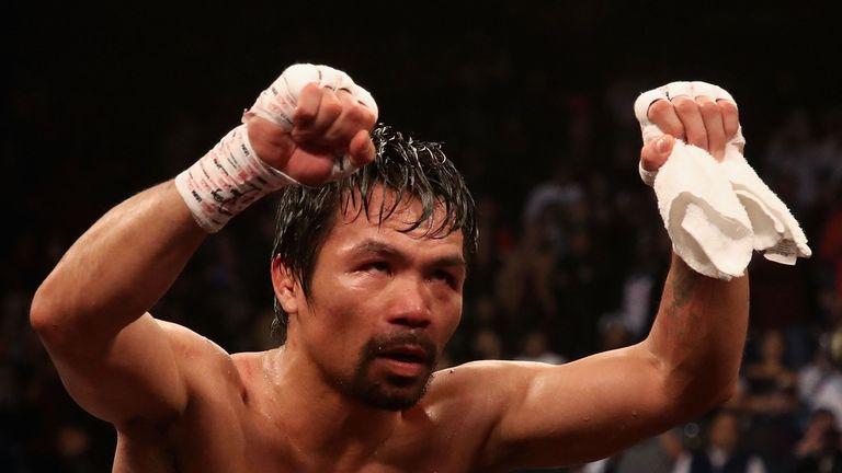 Manny Pacquiao beat Adrien Broner