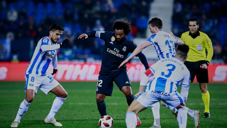 Marcelo featured but Santiago Solari opted to rotate his side on Wednesday