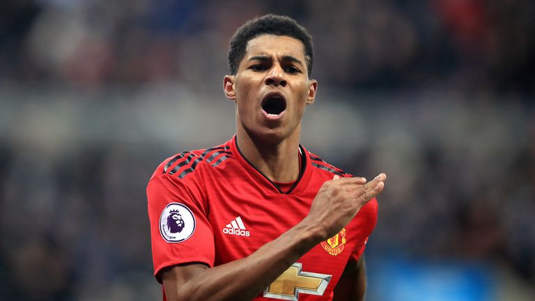 Marcus Rashford's current deal expires in 2020
