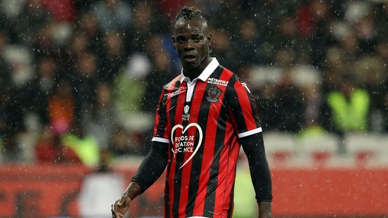 Mario Balotelli had two good seasons at Nice before leaving in January