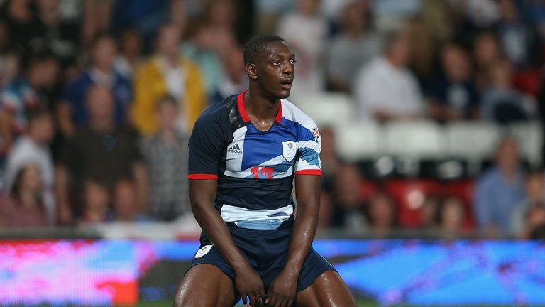 Marvin Sordell made two appearances for Great Britain's Olympic team in 2012