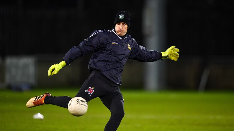 Switching codes: Meath goalkeeping coach, and Dundalk FC goalkeeper, Gary Rogers ahead of the O'Byrne Cup semi-final
