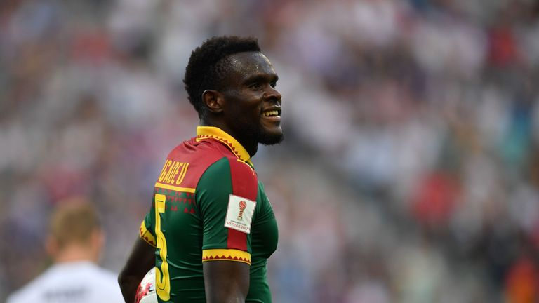 Michael Ngadeu-Ngadjui was named Cameroon captain by manager Clarence Seedorf in September