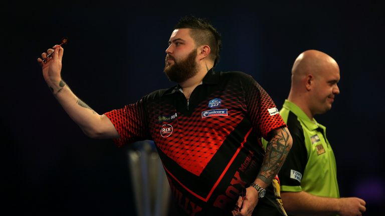 Michael Smith reached his first PDC World Championship final last year