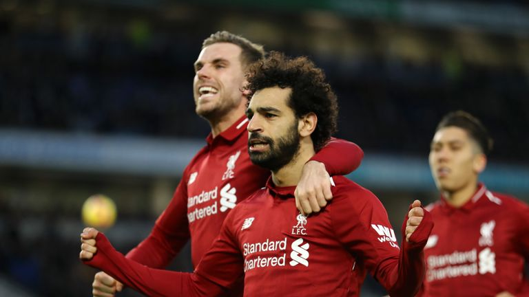 Mohamed Salah was one of the weekend's best performers, according to Sol Bamba