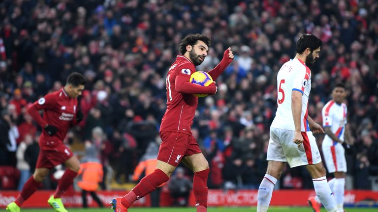 Mo Salah's Liverpool face Leicester on Wednesday