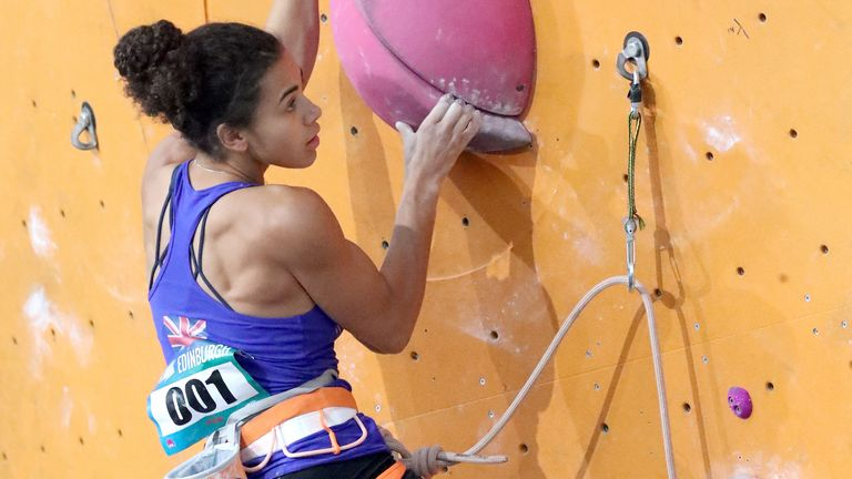 Thompson-Smith wants to see more BAME and female representation in climbing