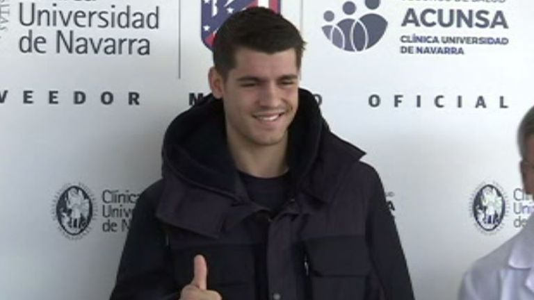 Morata is set to rejoin the club he played for as a 14-year-old