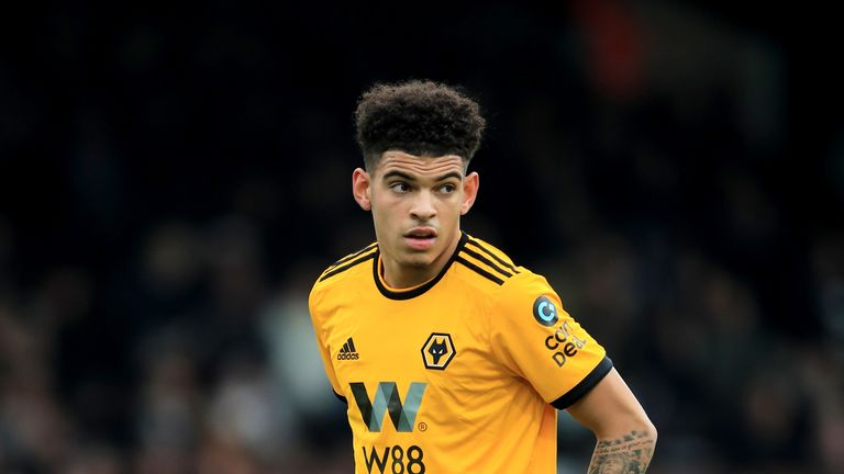 Morgan Gibbs-White has started three Premier League games for Wolves