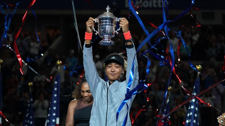 Osaka is a two-time Grand Slam champion